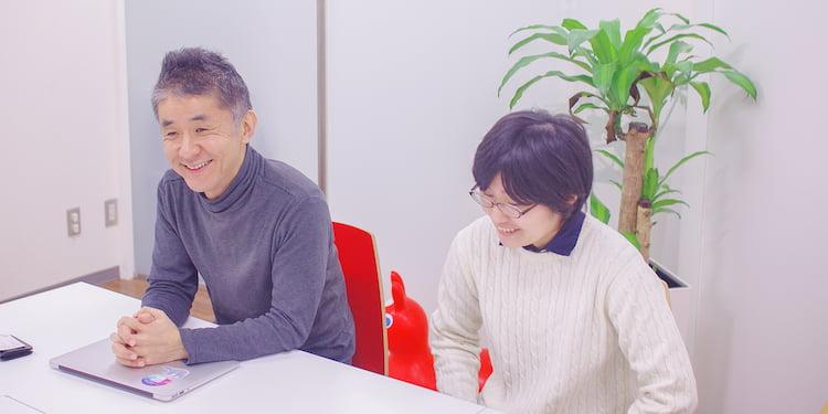研修で大変だったことを語るフォーミックスの田中さん