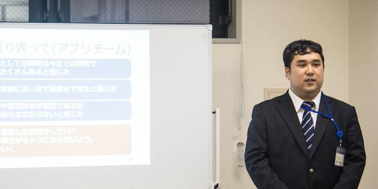 リーデックスの鈴木さんは現在、タブレットアプリの開発にも携わっているとのこと